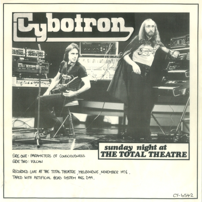 Cybotron - Sunday Night at the Total Theatre Front